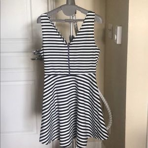 Sparkle and Fade Striped Dress
